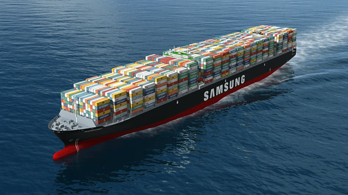 samsung container ship 16x9